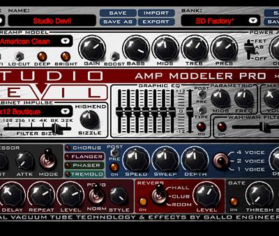 Studio Devil AMP1-DL Amp Modeler Pro