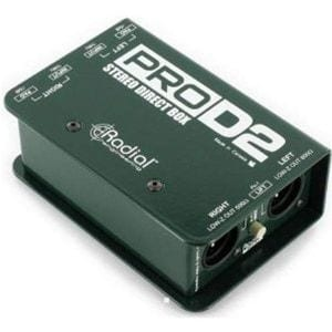 Radial Pro D2 Passive Stereo Direct Box