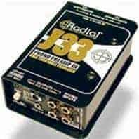 Radial J33 RIAA Turntable Preamp Direct Box
