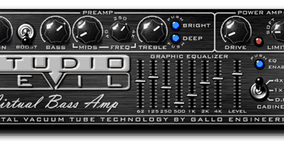 Studio Devil VBA1-DL Virtual Bass Amp