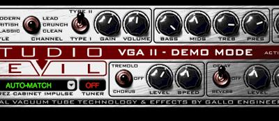 Studio Devil VGA2-DL Virtual Guitar Amp II