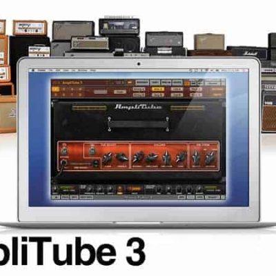 IK Multimedia Amplitube 3 Guitar and Amp Effects Sofware Screenshot