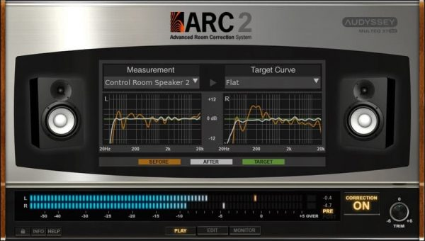 IK Multimedia ARC 2 Advanced Room Correction Software Screenshot