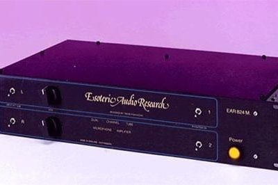 EAR 824 Stereo Valve Microphone Preamplifier