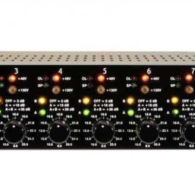 Millennia Media HV-3D-8 Eight channel version of HV-3 mic preamp
