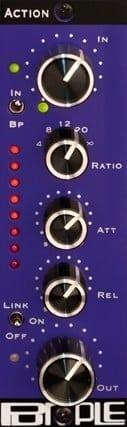 Purple Audio Action - FET Compressor