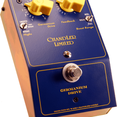 Chandler Limited Germanuim Drive Guitar Pedal