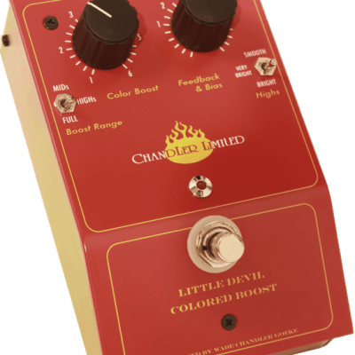 Chandler Limited Little Devil Colored Boost Guitar Pedal