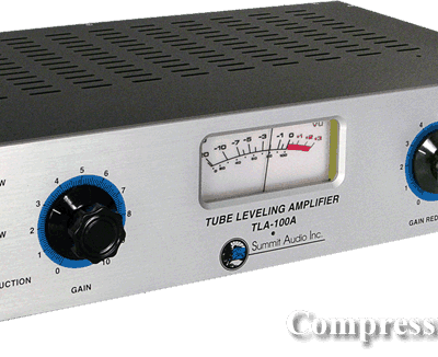 Summit Audio TLA-100A - Tube Leveling Amplifier