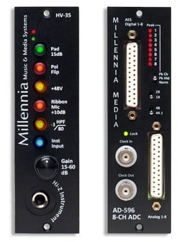 Millennia Media AD 596 AD-596500 Series AD Converter