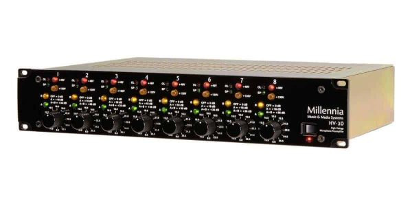 Millennia Media HV-3D-8 Eight channel version of HV-3 mic preamp