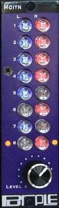 Purple Audio Moiyn - 8x2 Mixer Modules