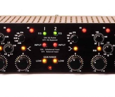 Millennia Media NSEQ-2 Two channel Class A vacuum tube