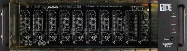 Purple Audio Sweet Ten - 10-Space 500-Series Chasis
