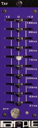 Purple Audio TAV - 10-Band Graphic Inductor EQ