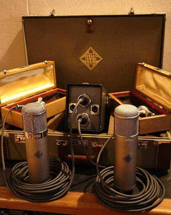 Telefunken U47 U48 Studio Set