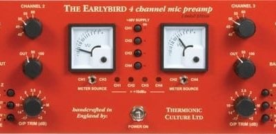 Thermionic Culture Earlybird 4 Channel Microphone Preamplifier