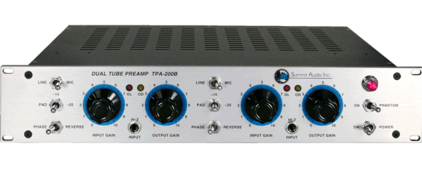 Summit Audio TPA 200B Chanel Pre Amplifier