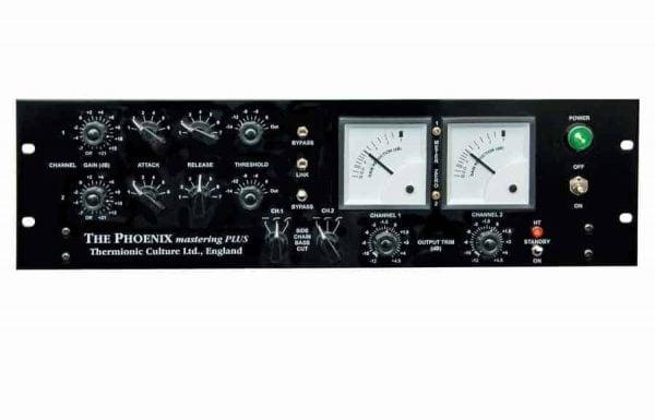 Thermionic Culture Phoenix Stereo Tube Mastering Compressor