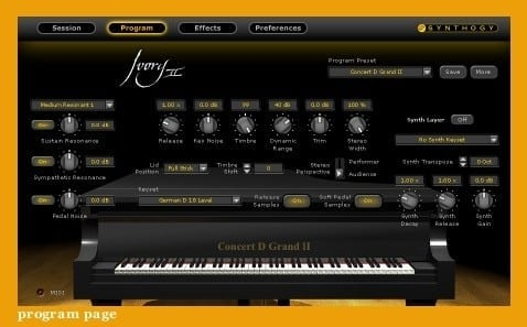 Synthogy Ivory II - Grand Pianos