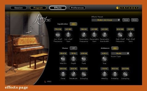 Synthogy Ivory II - Upright Pianos (Electronic Delivery)