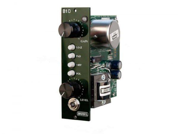 Burl Audio B1D - 500 Series Microphone Preamp DI
