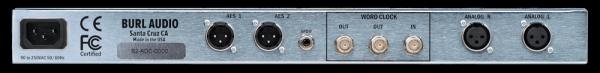 Burl Audio B2 Bomber - 2 Channel DA Converter Rear Mode