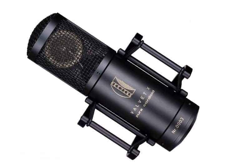 Brauner Valvet X Pure Cardiod Microphone Mode