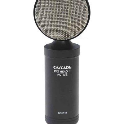 Cascade Fat Head II Active/Passive Ribbon Microphone