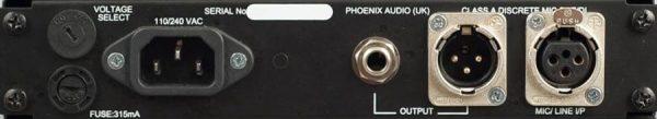 Phoenix Audio DRS Q4M Mono Mic Pre/EQ/DI