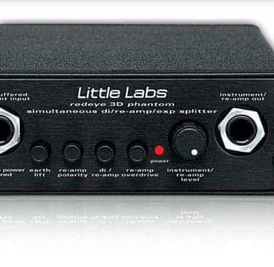 Little Labs RED3D Red Eye 3D Phantom Di / Re-Amp / Splitter