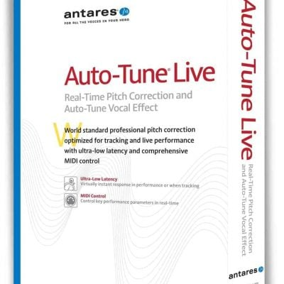 Antares Auto-Tune Live Pitch Correction Plug-in