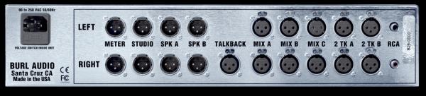 Burl Audio B26 Orca Monitor Controller Rear Mode