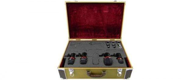 Avantone CDMK-4 4-Piece Drum Microphone Kit Box Mode