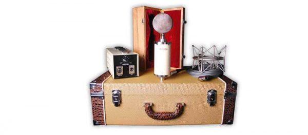 Avantone Pro BV-1 Large-Diaphragm Tube Condenser Microphone Box Mode