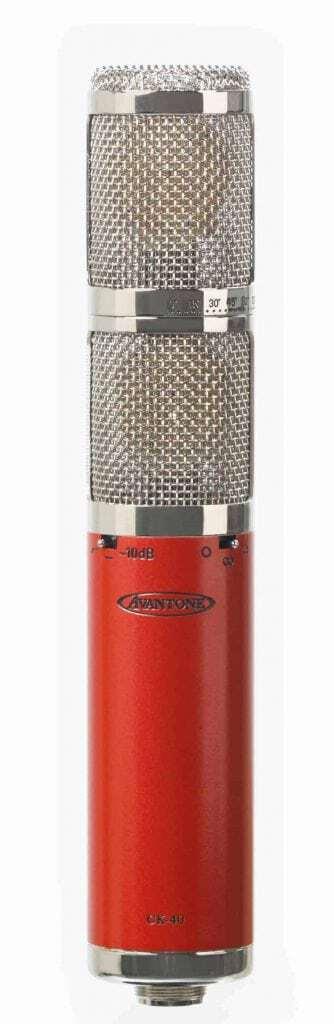 Avantone CK-40 Stereo Multi-Pattern FET Condenser Microphone Mode