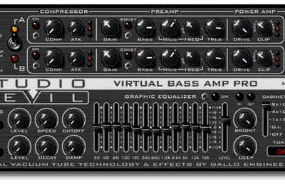 Studio Devil VBA1-DL Virtual Bass Amp Pro