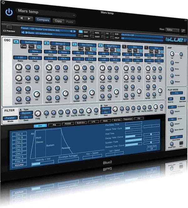 Rob Papen Blue II - Virtual Synthesizer