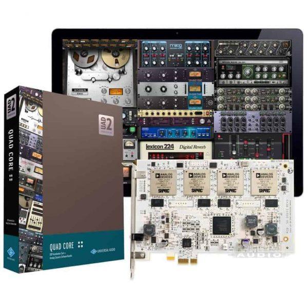 Universal Audio UAD-2 Quad Core PCIe w/ Analog Classics Plugin Bundle