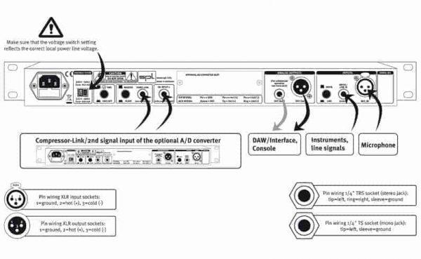 SPL Track One AD w/ Digital Output-11522