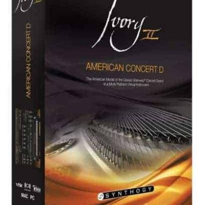 Synthogy Ivory II - American Concert D (Electronic Delivery)