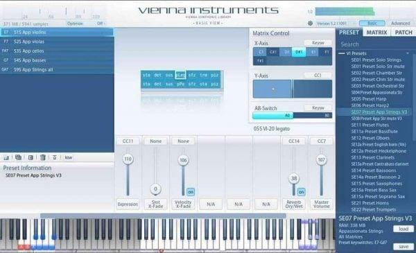 Vienna Symphonic Library Appassionata Strings II Standard
