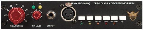 Phoenix Audio DRS 1 - Mono Mic Pre Amp DI