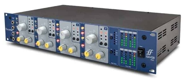 Focusrite ISA428 MkII Four-Channel Mic Preamp