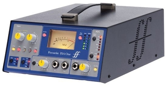 Focusrite ISA One Classic Single-channel Mic Pre-Amplifier Front Mode