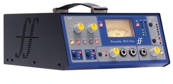 Focusrite ISA One Classic Single-channel Mic Pre-Amplifier Side Mode