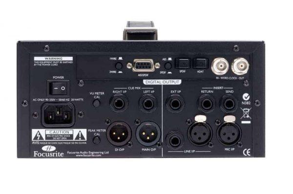Focusrite ISA One Classic Single-channel Mic Pre-Amplifier Rear Mode