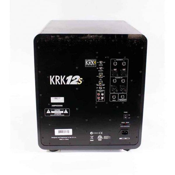 """KRK 12S 12"""" STUDIO SUBWOOFER 120V -16092"""