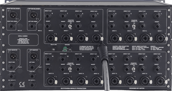 Manley 16x2 Mic Mixer