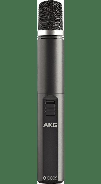 AKG C1000S Professional small diaphragm condenser microphone